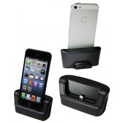 Apple iPhone 5/5S/SE - Polnilna postaja - črna