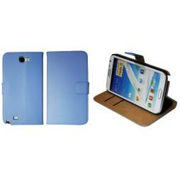 Samsung Galaxy Note 2 - Preklopna torbica (04) - modra
