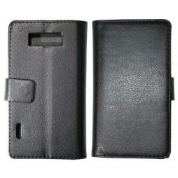 LG Optimus L7 - Preklopna torbica (WL) - črna