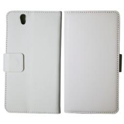 Sony Xperia Z yuga - Preklopna torbica (WL) - bela