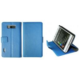 LG Optimus L7 - Preklopna torbica (WL) - modra