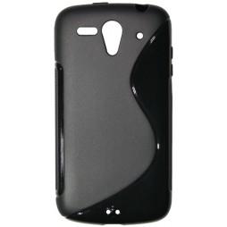 Huawei Ascend G300 - Gumiran ovitek (TPU) - črn
