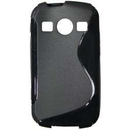 Samsung Galaxy Xcover 2 - Gumiran ovitek (TPU) - črn SLine