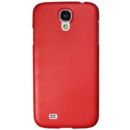Samsung Galaxy S4 - Okrasni pokrovček (16) - rdeč