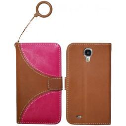 Samsung Galaxy S4 - Preklopna torbica (07) - rjava