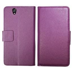 Sony Xperia Z yuga - Preklopna torbica (WL) - vijolična