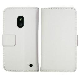 Nokia Lumia 620 - Preklopna torbica (WL) - bela
