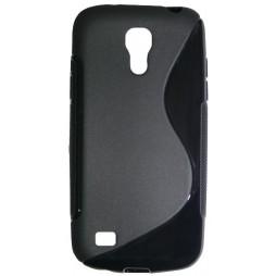 Samsung Galaxy S4 Mini - Gumiran ovitek (TPU) - črn SLine