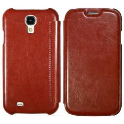 Samsung Galaxy S4 - Preklopna torbica (12) - rjava