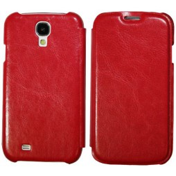 Samsung Galaxy S4 - Preklopna torbica (13) - rdeča