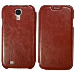 Samsung Galaxy S4 - Preklopna torbica (13) - rjava