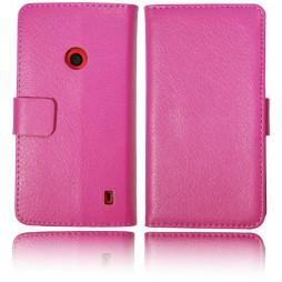 Nokia Lumia 520 - Preklopna torbica (WL) - roza