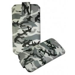 Chameleon Army 135 x 69 (žepek) - siva