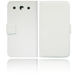 LG Optimus G Pro - Preklopna torbica (WL) - bela