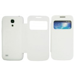 Samsung Galaxy S4 Mini - Preklopna torbica (04) - bela