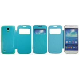 Samsung Galaxy S4 Mini - Preklopna torbica (04) - modra