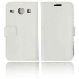 Samsung Galaxy Core - Preklopna torbica (WL) - bela