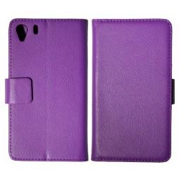 Sony Xperia Z1 - Preklopna torbica (WL) - vijolična