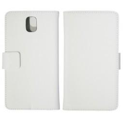 Samsung Galaxy Note 3 - Preklopna torbica (WL) - bela