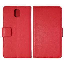 Samsung Galaxy Note 3 - Preklopna torbica (WL) - rdeča