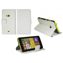 Nokia Lumia 625 - Preklopna torbica (WL) - bela