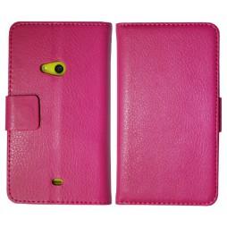 Nokia Lumia 625 - Preklopna torbica (WL) - roza