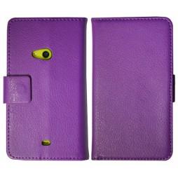 Nokia Lumia 625 - Preklopna torbica (WL) - vijolična