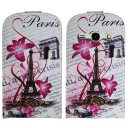 Samsung Galaxy Fame - Preklopna torbica (40) - Pink Paris