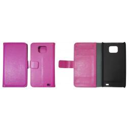 Samsung Galaxy S II - Preklopna torbica (WL) - roza
