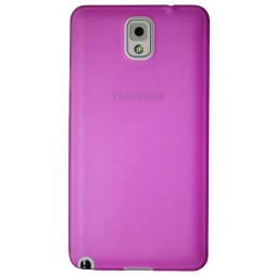 Samsung Galaxy Note 3 - Gumiran ovitek (TPUT) - roza