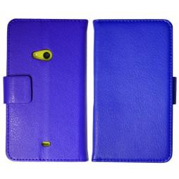 Nokia Lumia 625 - Preklopna torbica (WL) - modra