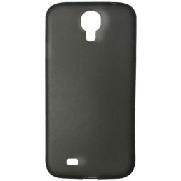 Samsung Galaxy S4 - Okrasni pokrovček (19) - črno-prosojen