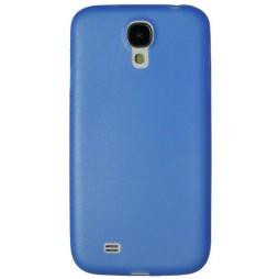 Samsung Galaxy S4 - Okrasni pokrovček (19) - modro-prosojen
