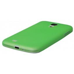 Samsung Galaxy S4 - Okrasni pokrovček (19) - zeleno-prosojen