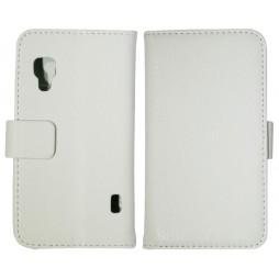 LG Optimus L5 II - Preklopna torbica (WL) - bela