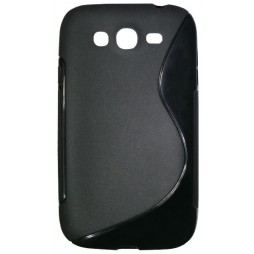 Samsung Galaxy Grand/Grand Neo - Gumiran ovitek (TPU) - črn SLine
