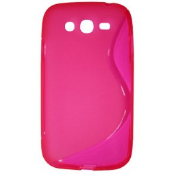 Samsung Galaxy Grand/Grand Neo - Gumiran ovitek (TPU) - roza-prosojen SLine