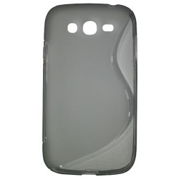 Samsung Galaxy Grand/Grand Neo - Gumiran ovitek (TPU) - sivo-prosojen SLine