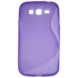 Samsung Galaxy Grand/Grand Neo - Gumiran ovitek (TPU) - vijolično-prosojen SLine