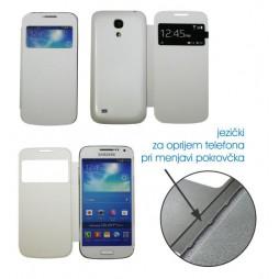 Samsung Galaxy S4 Mini - Preklopna torbica (BT) - bela