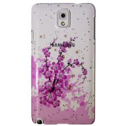 Samsung Galaxy Note 3 - Okrasni pokrovček (32) - A6 rožice s čebelami