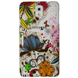 Samsung Galaxy Note 3 - Okrasni pokrovček (32) - A15 pisane rože