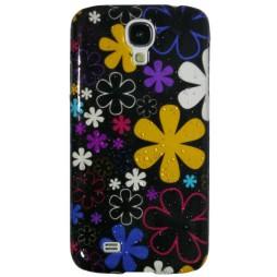 Samsung Galaxy S4 - Okrasni pokrovček (32) - A16 črn rože