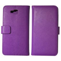LG Optimus L9 II - Preklopna torbica (WL) - vijolična
