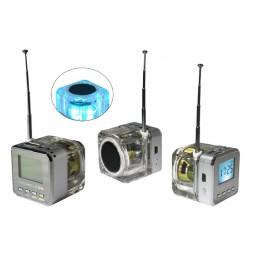 Multifunkcijski zvočnik MP3 (TT028) - srebrna