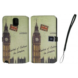 Samsung Galaxy Note 3 - Preklopna torbica (42) - London