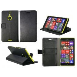 Nokia Lumia 1520 - Preklopna torbica (WL) - črna