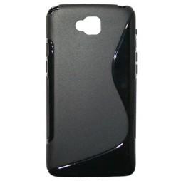 LG G Pro Lite - Gumiran ovitek (TPU) - črn SLine