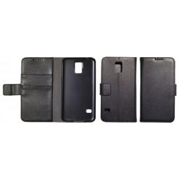Samsung Galaxy S5/S5 Neo - Preklopna torbica (WL) - črna