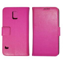 Samsung Galaxy S5/S5 Neo - Preklopna torbica (WL) - roza